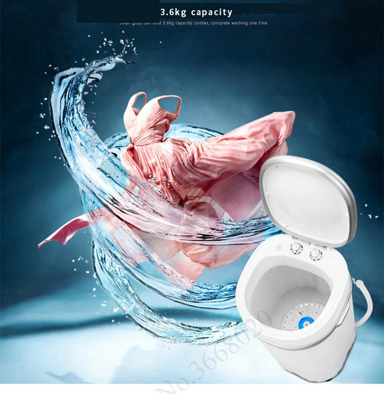 portable washing machine washing capacity