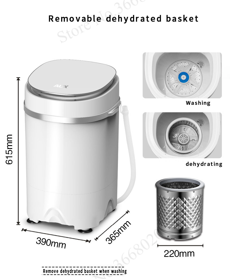 different modes of portable washing machine