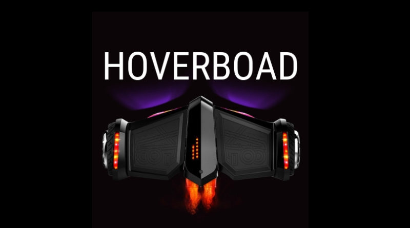 hoveroard with lights