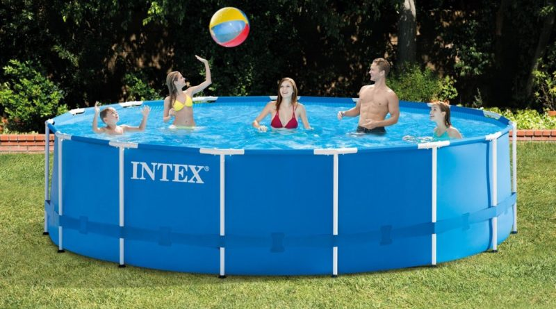 intex above ground pool in aliexpress