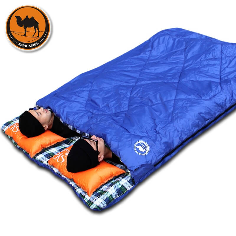 Adult-outdoor-camping-sleeping-bag-envelope-pattern-couple-lover-travel-warm-weather-use-can-split-into_1
