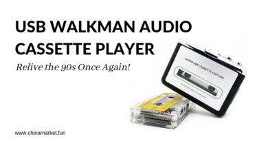 USB WALKMAN AUDIO CASSETTE PLAYER