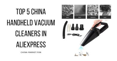 Top 5 China Handheld Vacuum Cleaners in AliExpress
